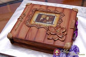 Vintage photo album - Cake by Sheila