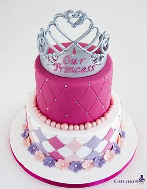 A princess cake - Cake by Catcakes