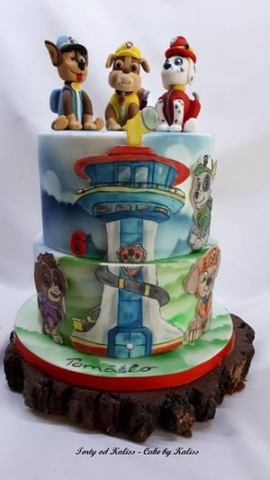 Birthday Paw Patrol - Cake by Kaliss