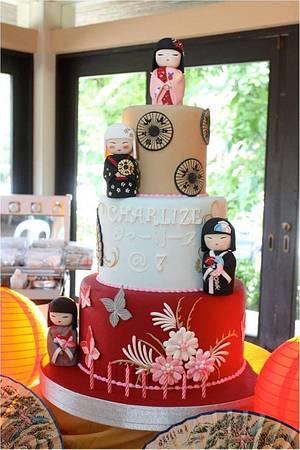 Kimmi Dolls Birthday Cake - Cake by Penk Ching