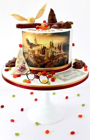 Harry Potter Cake - Cake by Sweetie Darling- Billie