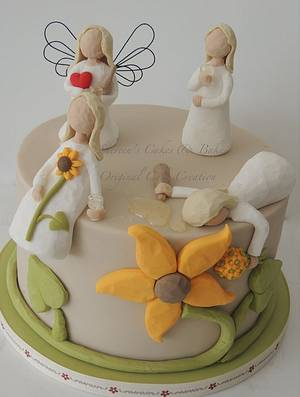 Willow Tree Figures - Cake by Shereen