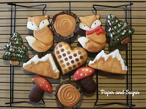 Winter set - Cake by Dina - Paper and Sugar