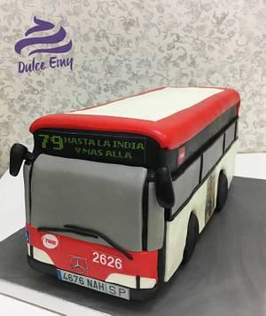 Bus cake  - Cake by Emy