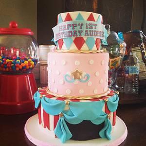 Carnival cake - Cake by Erica Parker