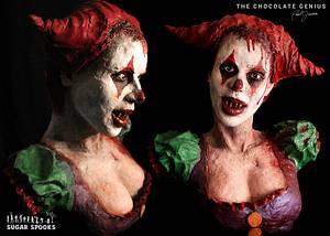 Morbid Molly the Clown - Cake by Paul Joachim