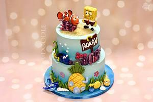 Underwater fantasy - Cake by Nimitha Moideen