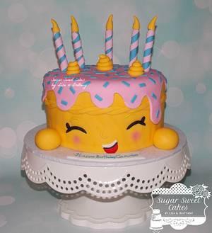 Shopkins - Cake by Sugar Sweet Cakes
