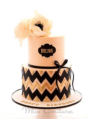 Mum's The Word!  - Cake by misscouture