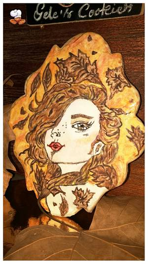 Autumn - Cake by Gele's Cookies