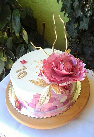 For a woman - Cake by luhli