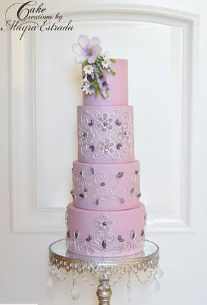 Amethyst - Cake by Cake Creations by ME - Mayra Estrada