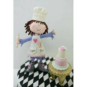 Pretty Chef - Cake by FatmaOzmenMetinel
