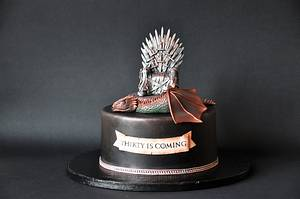 Game of Thrones - Cake by ArchiCAKEture