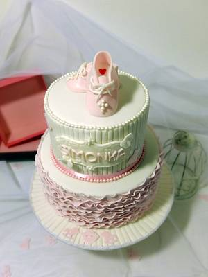 Christening cake - Cake by SWEET architect