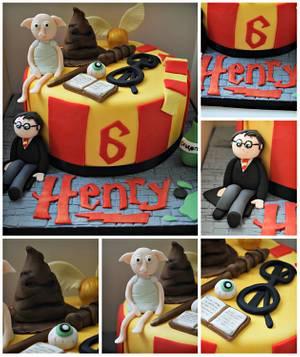 Harry Potter Cake - Cake by Jen Savaris