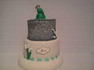 Tarta ranita - Cake by maria jose garcia herrera