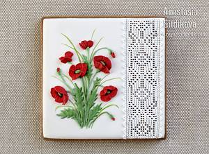 """Cookie """"Poppies"""" - Cake by Anastasia"""