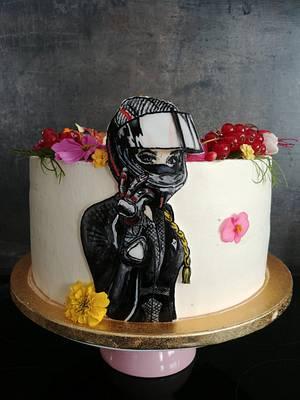 Biker girl - Cake by Ako cukor sladká