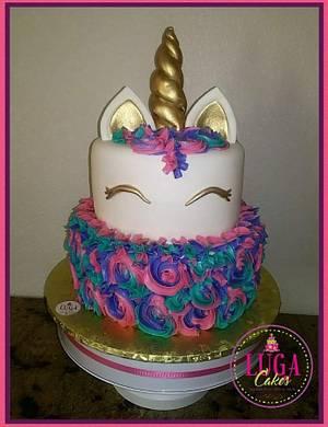 Unicorn  - Cake by Luga Cakes