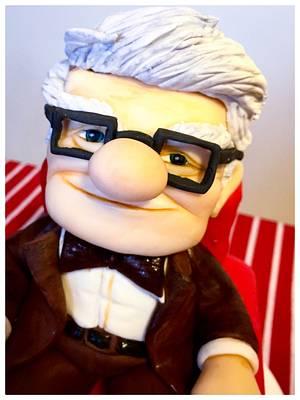 Sweet, Mr. Carl -  cartoon Up - Cake by donatellacakes72