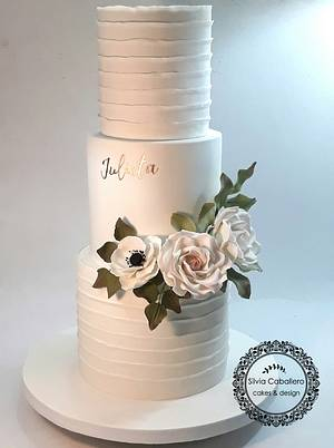 15th birthday Cake for Julieta - Cake by Silvia Caballero