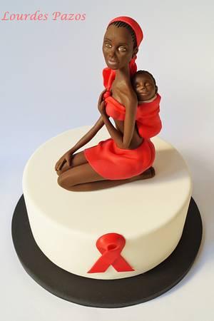 Colaboración Be RED - UNSA 2015 - Cake by Lourdes Pazos