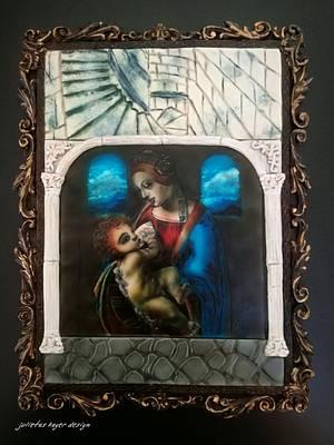 Madonna Litta- Sugar Art Museum - Cake by Julieta ivanova Julietas cakes