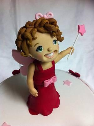Fairy Birthday Girl - Cake by Mardie Makes Cakes