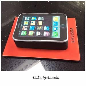 I phone birthday cake - Cake by CakesbyAnusha