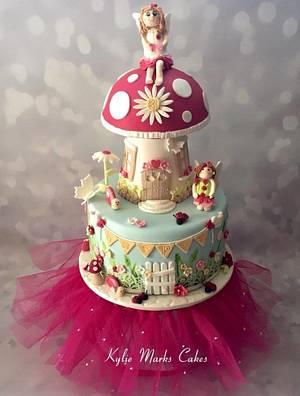 Fairy garden cake - Cake by Kylie Marks