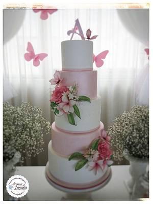 la comunione di Annabella - Cake by aroma di vaniglia