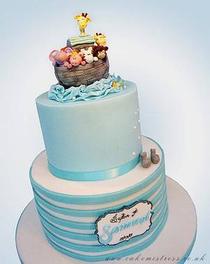 Noahs Ark  - Cake by Nuria Moragrega - Cake Mistress