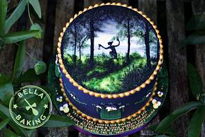 A Midsummer Night's Dream - Cake Masters Sept '15 collaboration piece - Cake by Inga Ruby Cakes (formerly Bella Baking)