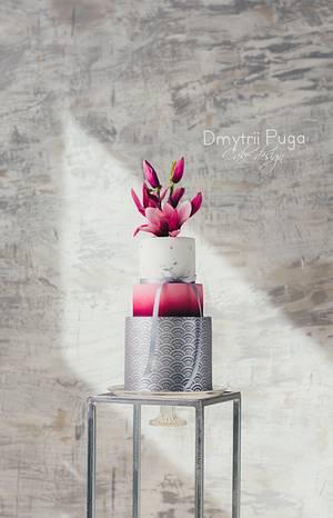 Magnolia's Spring Dream - Cake by Dmytrii Puga