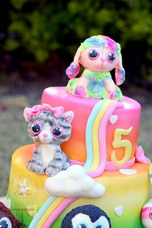 Beanie Boo Cake - Cake by Znique Creations
