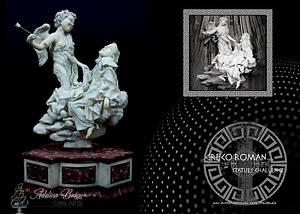 Greco Roman Statue Challenge - The Ecstasy of Saint Teresa - Cake by Adelina Baicu Cake Artist
