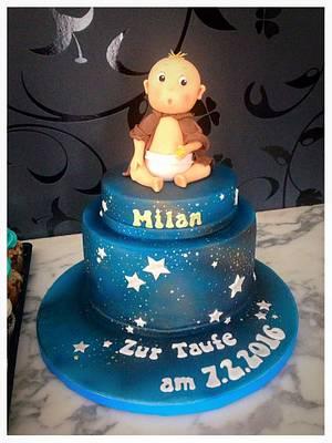 StarWars Baby Cake  - Cake by Simone Barton
