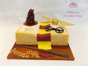 Harry Potter Book Cake - Cake by Alana Lily Chocolates & Cakes
