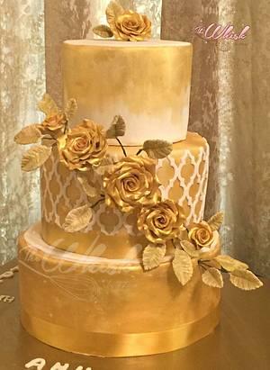50th birthday cake  - Cake by TheWhiskByHema