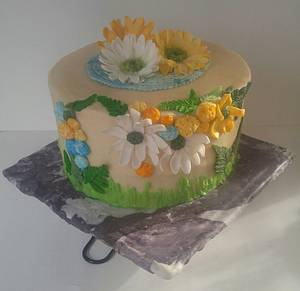 "Rachel's Birthday Cake - Cake by June (""Clarky's Cakes"")"