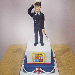 Non-commissioned officer - Cake by Valeria Antipatico