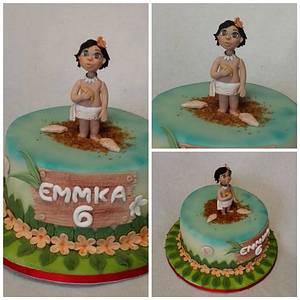 Moana - Cake by Anka