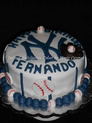 New York Theme Cake - Cake by Maria Cazarez Cakes and Sugar Art