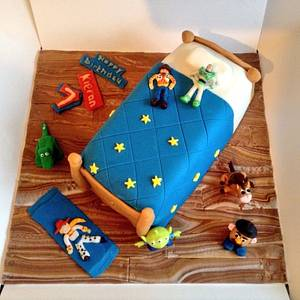 Toy story bed cake  - Cake by Marie