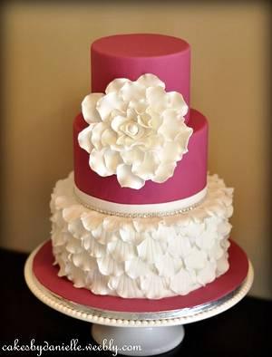 Ruffles of Petals - Cake by CBD