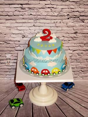 Cars cake - Cake by tweetylina