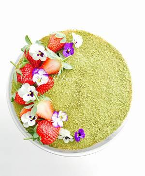 Spring Tea Cake - Cake by AlphacakesbyLoan