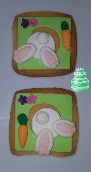 Easter bunny. - Cake by Pluympjescake