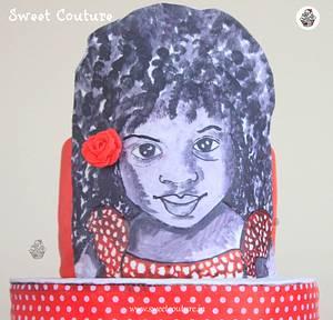 The little girl - Cake by Sunaina Sadarangani Gera